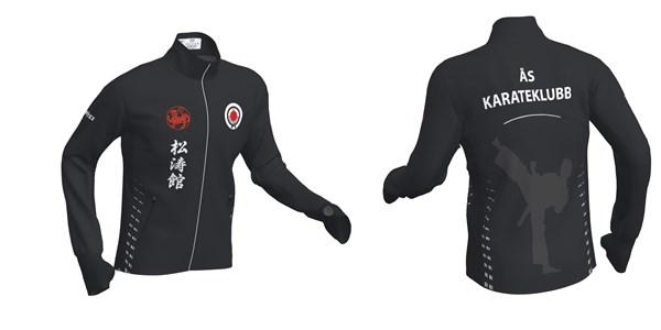 2ae55c06 Jakke og t-skjorte med logo - Ås karateklubb